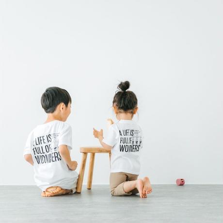 「WONDERS」Tシャツ/KIDS/90/100/120/140