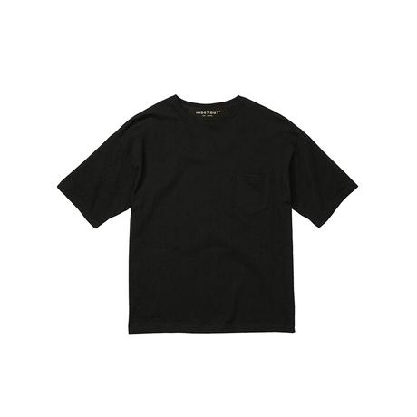 1ポケ/ビッグシルエットTシャツ「MOST」 BLACK / M / L