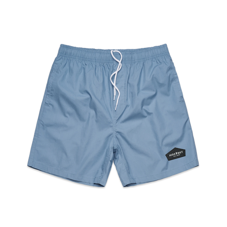 BEACH SHORTS / 32 / 34 / BLACK / CHARCOAL / OLIVE / PURPLE / BLUE
