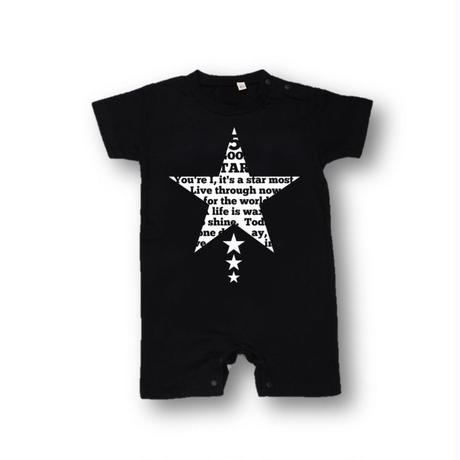 「STAR」ロンパース/BABY/80