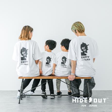 「EMPTY」Tシャツ/UNISEX/WHITE/BLACK/S/M/L/XL