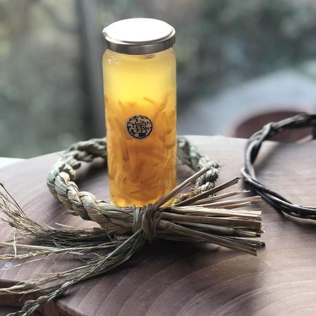 優しい柚子の香り 無農薬自然栽培の柚子ハニーシロップ