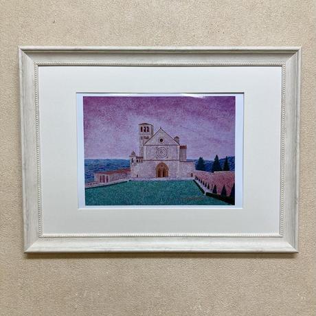 「アッシジの風景」オリジナル・ジクレー作品