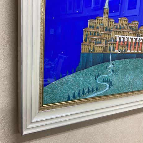 「命の泉」M20号 テンペラ画