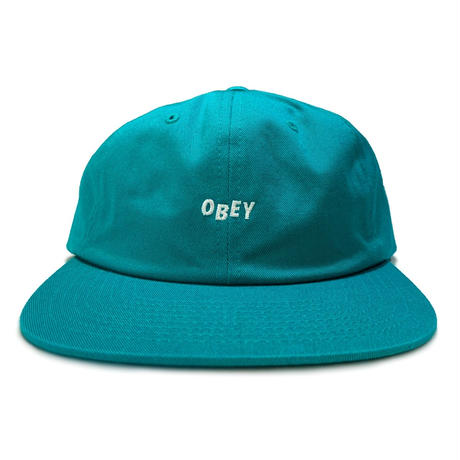 OBEY JUMBLED 6 PANEL CAP