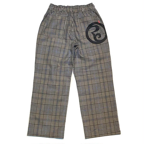 ROLLINGCRADLE CHECK PANTS