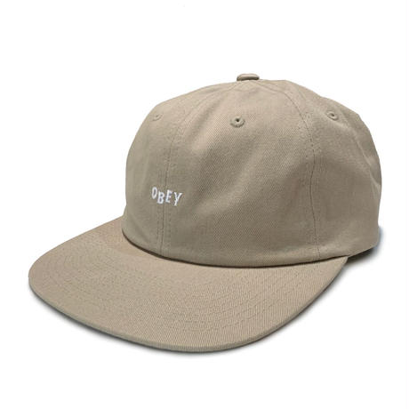 OBEY JUMBLED 6 PANEL CAP