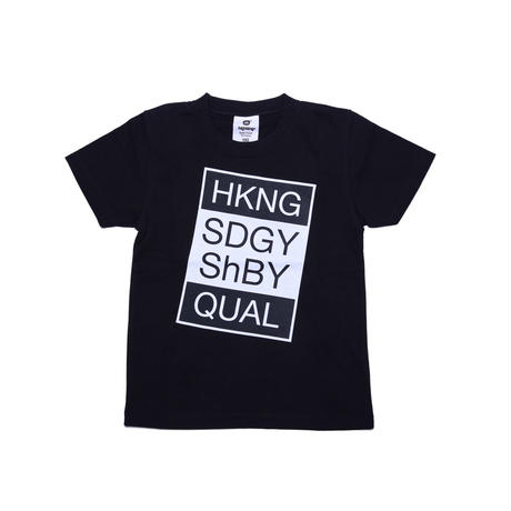 ollie short sleeve /store highking限定BLACK ( 130cm~160cm )