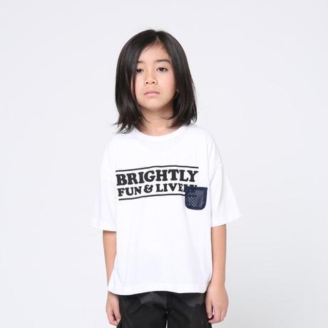 signs short sleeve  / white (110cm)