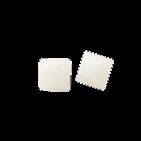 Pyramid Pierce(Shell White)