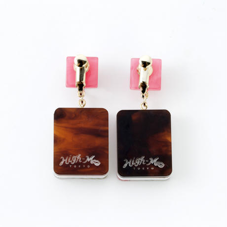 MIRAGE EARRING(Orange)