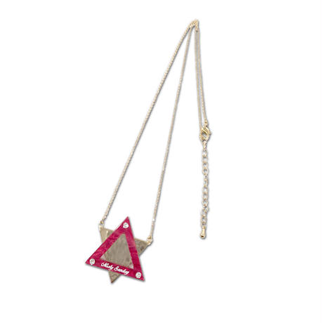 Hexagram Chain Necklace