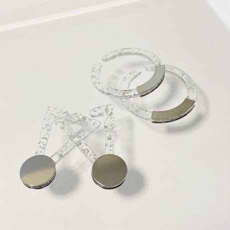 Circle Earcuff (銀箔)