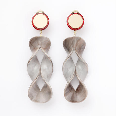 Yugami Earring (Gray)