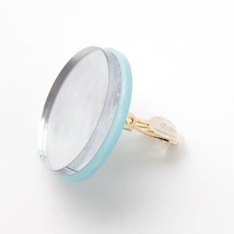 Full Moon Earring (Blue)