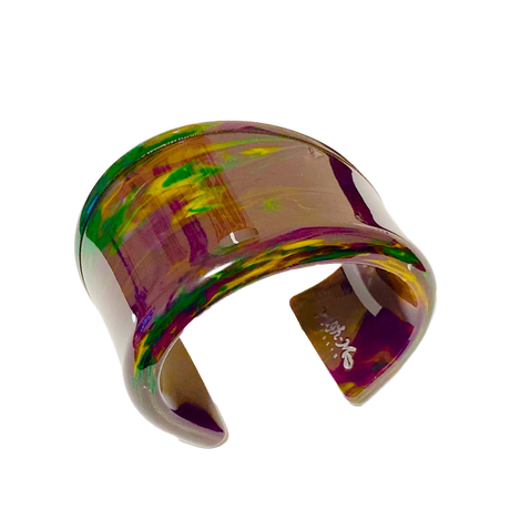 Looping Bangle (Purple&Green)