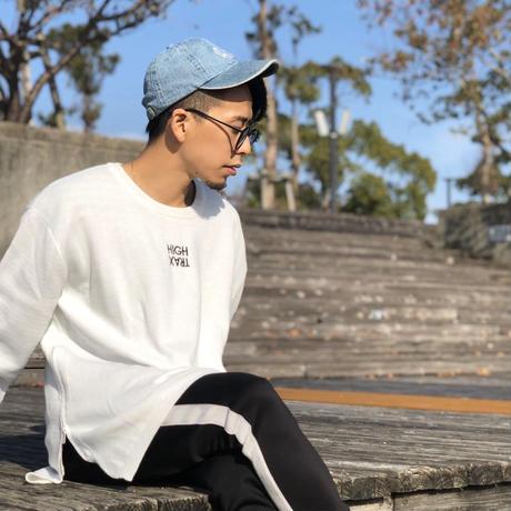 サイドジップニットセーター
