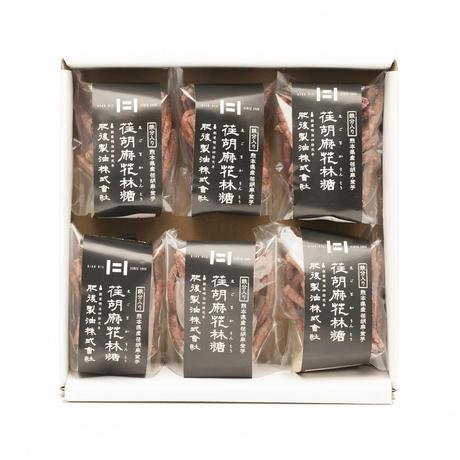 えごまかりんとう詰合せ(紫芋味・6袋セット)(60gえごまかりんとう)