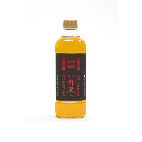 国産菜種油 初代弁蔵(600g)