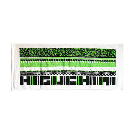 HIGUCHIAIフェイスタオル/GREEN