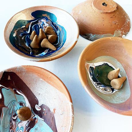 [made in higuchi] お香&土皿セット