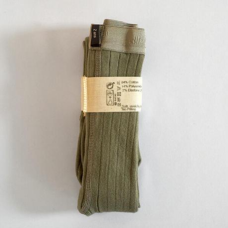 Collégien / Ribbed tights - Safari