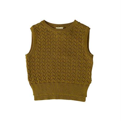 liilu / Jona Knit Vest - Pistachio