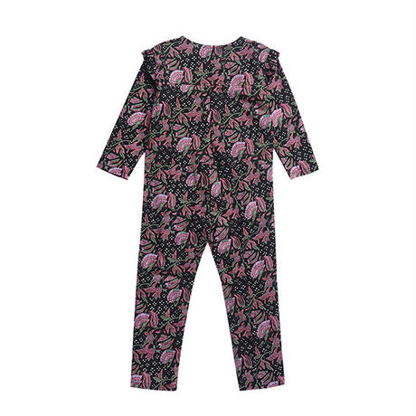 Louise Misha / JUMPSUIT AZKAN - BLACK FLOWER 4Y