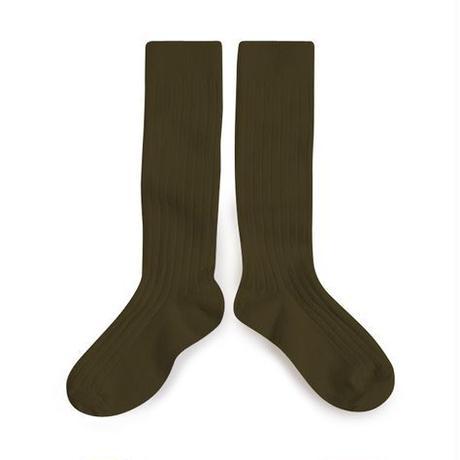Collégien / Knee highs socks - Cactus