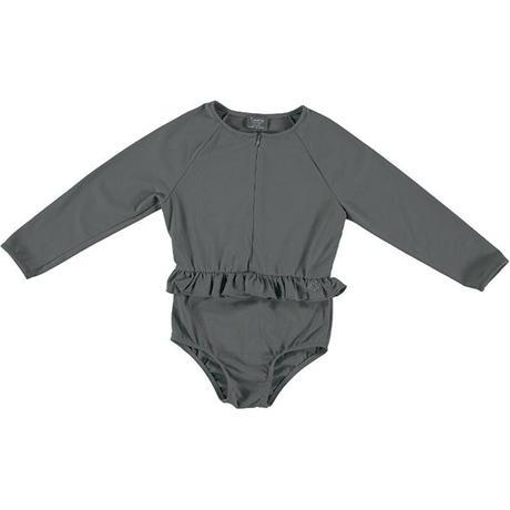 tocoto vintage / Rainbow symphony long sleeve swimsuit UPF 50+