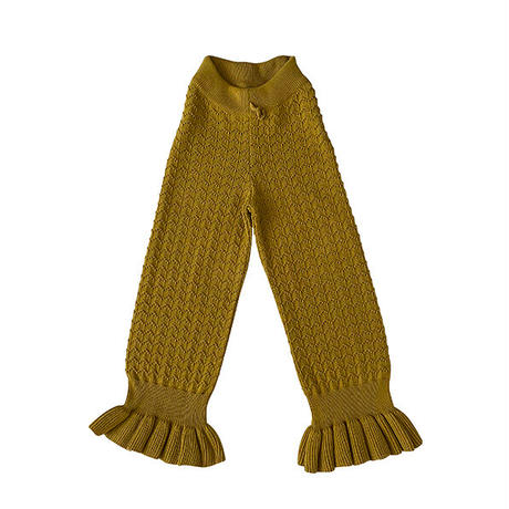 liilu / Mina Knit Pants - Pistachio
