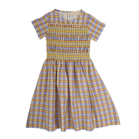 Omibia / LOVE Dress - Rainbow Check