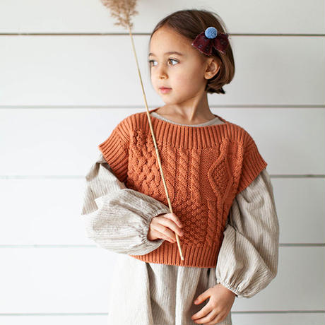 SOOR PLOOM / Margot Sweater Vest - PEONY