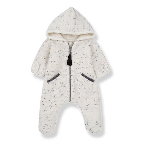 1+in the family / BERGEN polar suit - ECRU