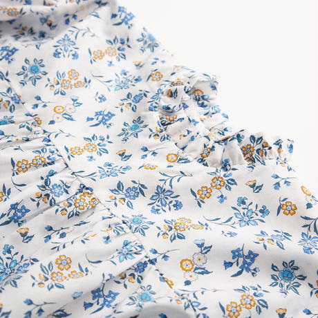 Nellie Quats / Kiss-Chase Blouse - Edith Rose Liberty Print 5-6Y / 7-8Y