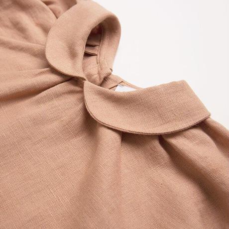 Nellie Quats / Duck, Duck, Goose Blouse - Clay Linen