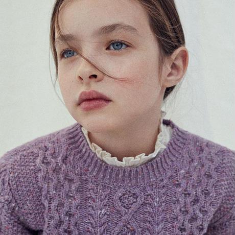 the new society / Noel Knit Jumper - LAVANDA