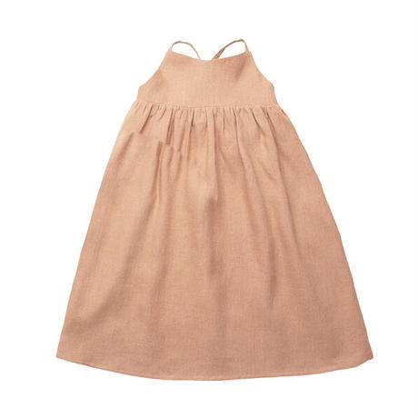 Nellie Quats / Daisy Chain Dress - Clay Linen