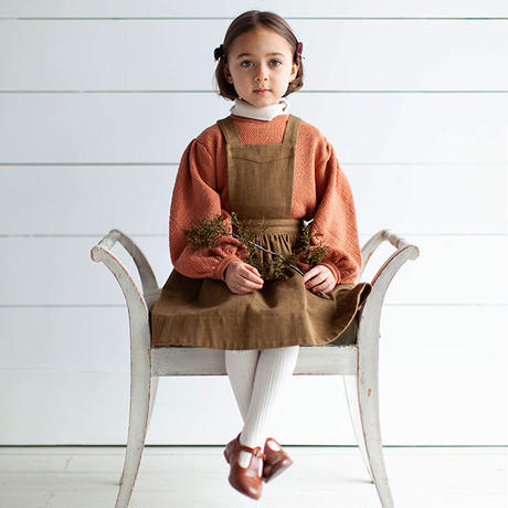 SOOR PLOOM / Harriet Pinafore - MUSHROOM CANVAS