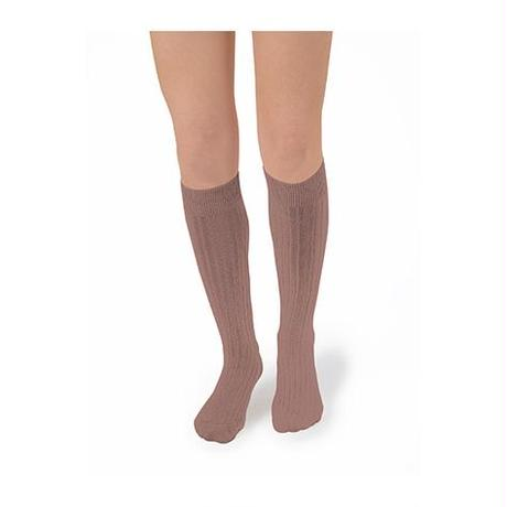 Collégien / Knee highs socks - Praline
