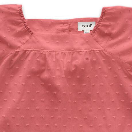 oeuf / SWISS DOTS DRESS - melon