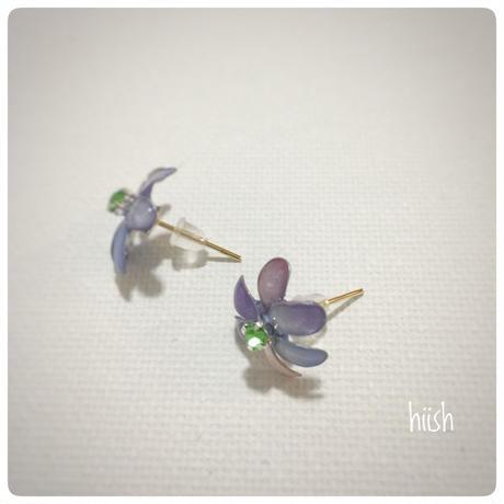 ☆母の日ギフト☆春の花のピアス2  (送料無料)