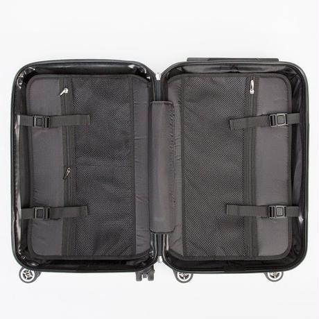 【絵を持つようなスーツケース】ここからの道