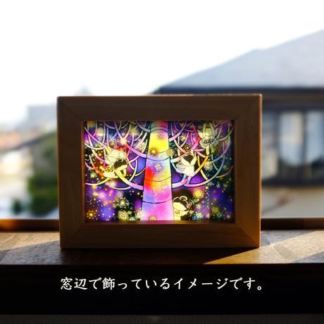 【絵が変わるミニフレーム】 天使からの贈り物