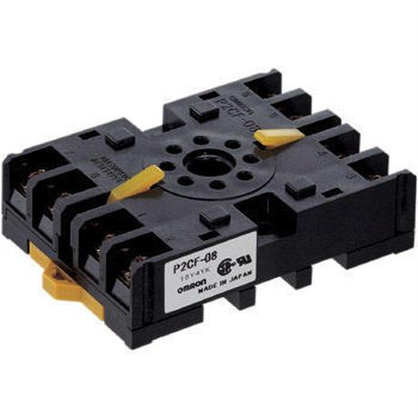 共用ソケット 丸形ソケット P2CF(表面接続)