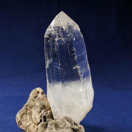 ヒマラヤ水晶 マニカラン産 シングルポイント クリア 光沢