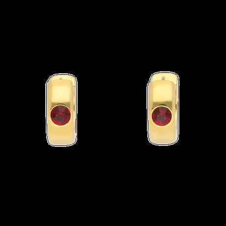 Swaro hoop pierces / gold