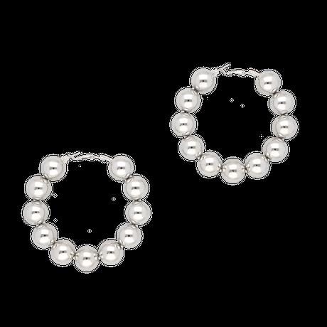 Big ball pierces / silver