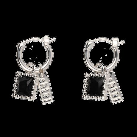 Charm pierces  / silver