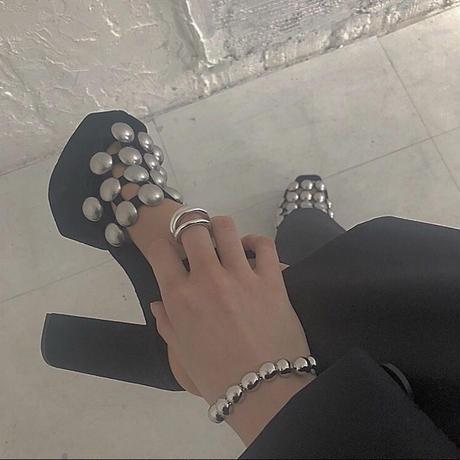 Half bracelet / silver